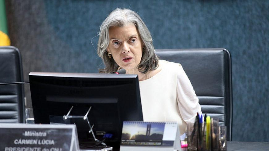 Ministra Cármen Lúcia intima TJPR para prestar informações sobre descumprimento de acórdão do CNJ