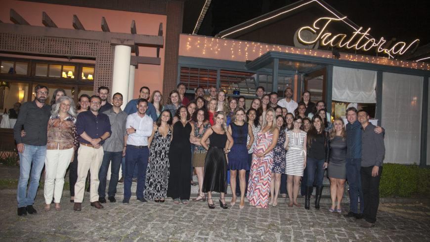 ANJUD reúne 130 pessoas em jantar de fim de ano na cidade de Curitiba/PR