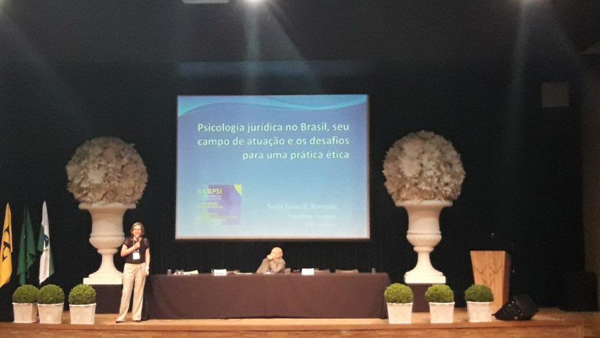 Analistas Judiciárias apresentam trabalhos científicos no I Congresso Brasileiro de Psicologia Jurídica e Forense