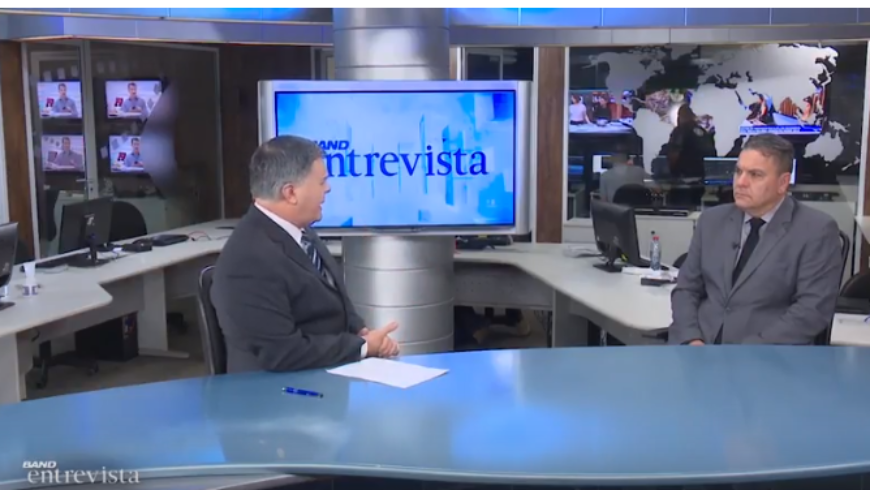 Presidente eleito do TJPR concede entrevista à Band Curitiba