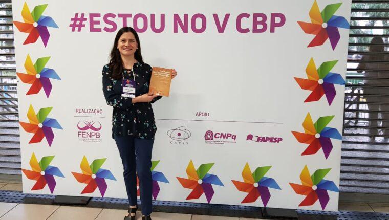 Analista Judiciária – Psicóloga é coautora de capítulo de obra lançada em São Paulo