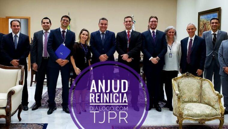 ANJUD reinicia canal de diálogo com a Presidência do TJPR