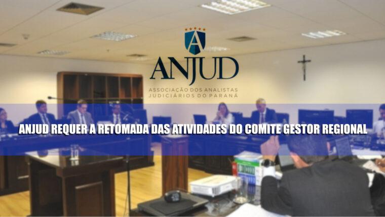 ANJUD requer retomada das atividades do Comitê Gestor Regional