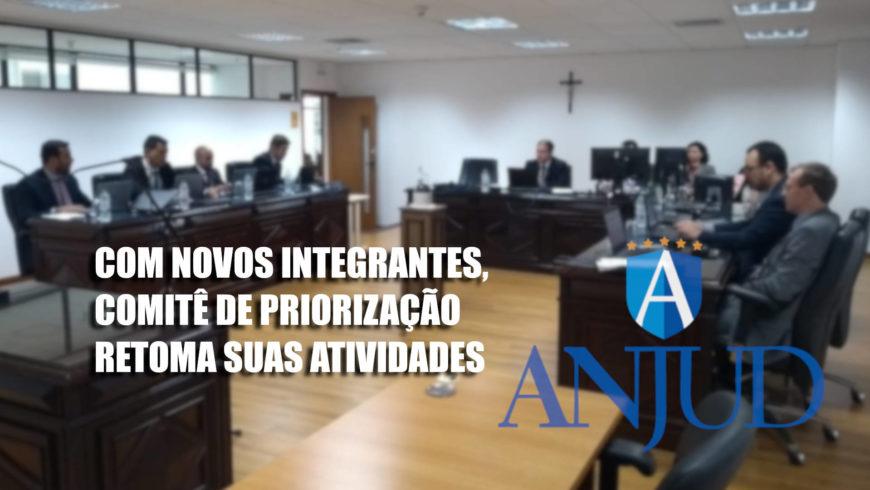 Com novos integrantes, Comitê de Priorização retoma suas atividades