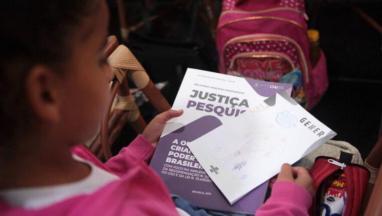Pesquisa do CNJ aponta necessidade de padronização em escuta humanizada de crianças