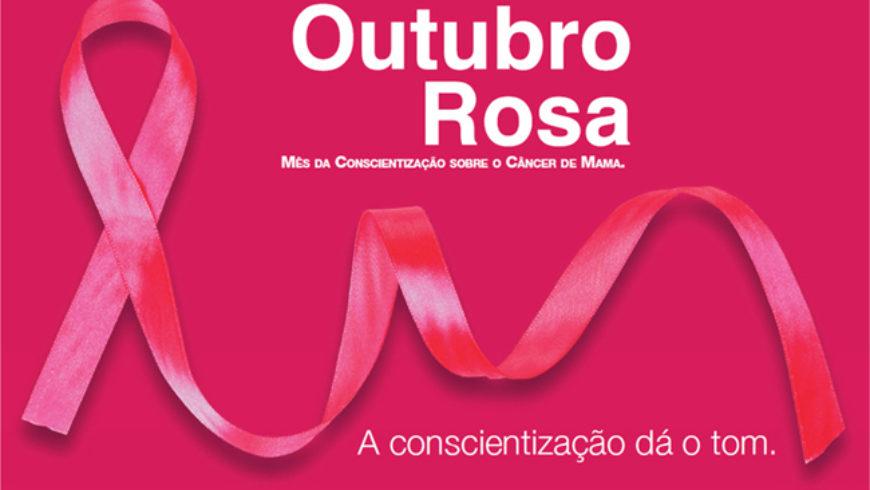 Outubro rosa: a conscientização dá o tom