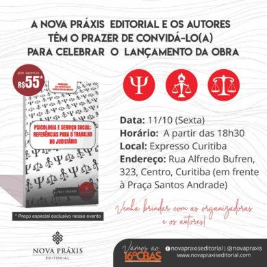 Analistas Judiciárias farão o lançamento de seu livro em Curitiba