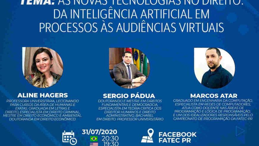 Analista Judiciário participará de painel sobre aplicação da Inteligência Artificial no Direito