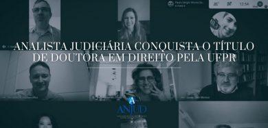 Analista Judiciária conquista o título de Doutora em Direito pela UFPR